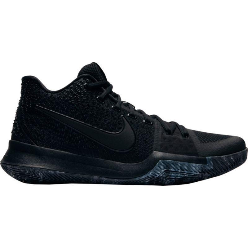 Nike Mens Kyrie 3 Basketball Shoes, Black