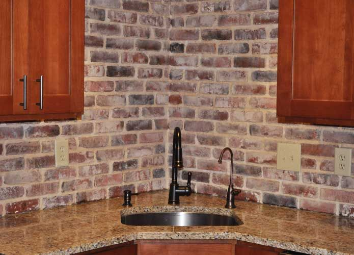 Faux Grey Brick Wall Faux Brick Panels Brick Paneling Faux Brick