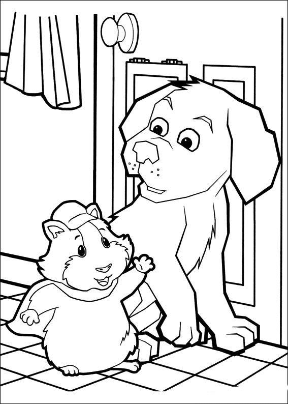 Wonder Pets Fargelegging. Tegninger 6