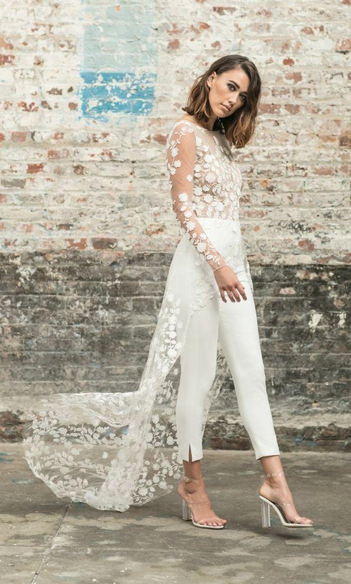 1001 id es pour un tailleur pantalon femme chic pour mariage tenue invit e mariage ny. Black Bedroom Furniture Sets. Home Design Ideas