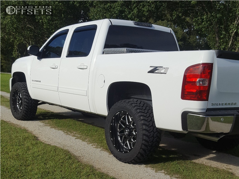 4 2013 Silverado 1500 Chevrolet Rough Country Suspension Lift 35in Hostile Sprocket Machined Black Silverado Lifted Chevy Trucks Silverado 1500