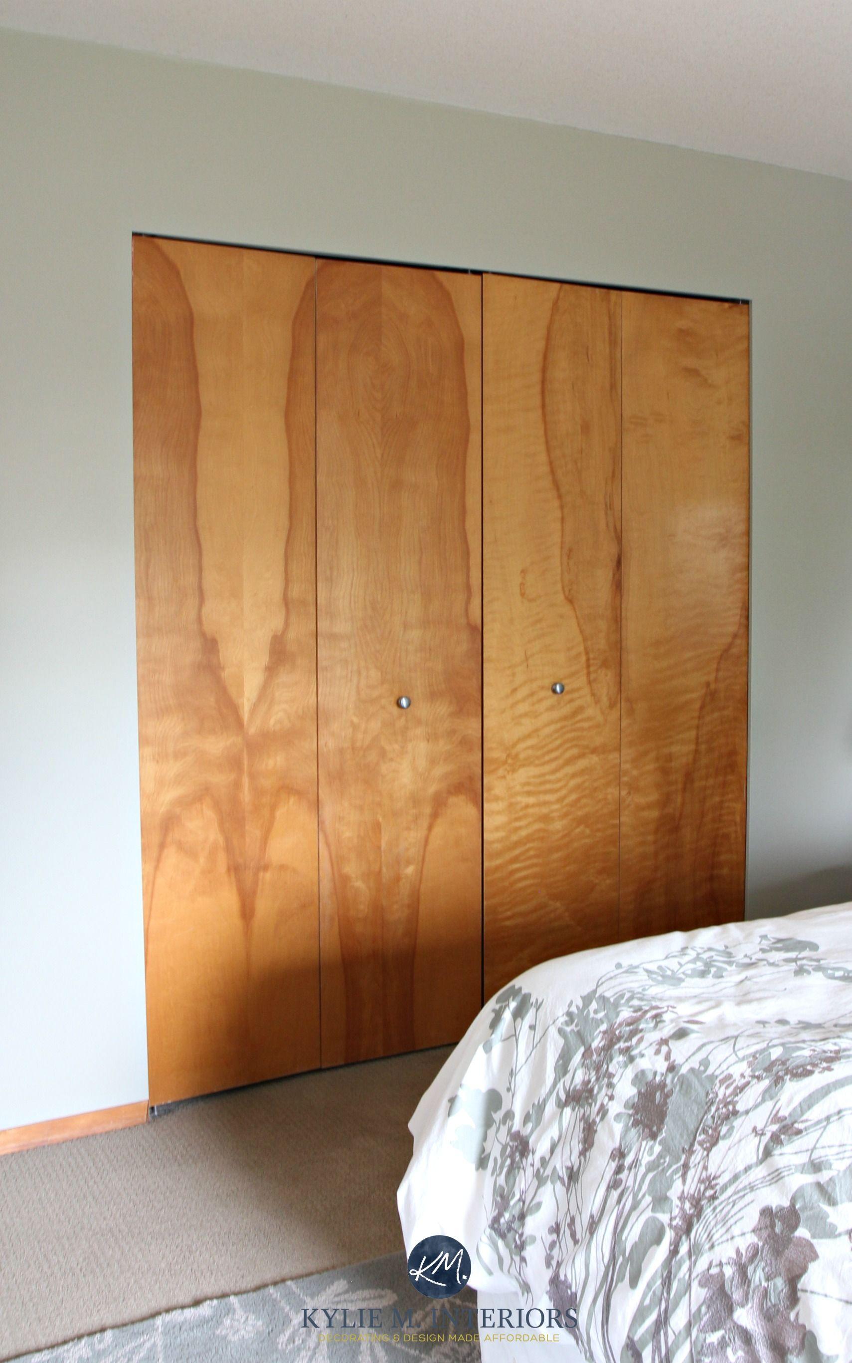 Benjamin Moore Mountain Air In Bedroom With Wood Kylie M