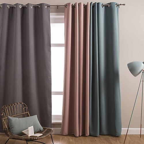 urban text rideaux textiles tapis rideau illets. Black Bedroom Furniture Sets. Home Design Ideas