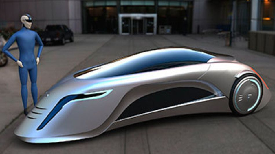 Eyes Technology 2030 Car Of The Future Looks Like A Supersonic Road Rocket Pics Adc045fd02