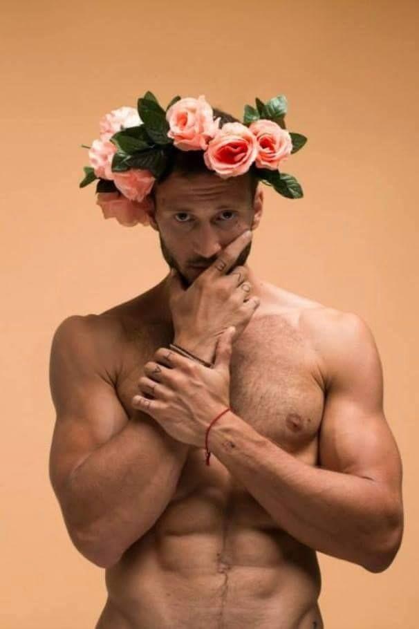 Прикольные картинки с мужиками с цветами