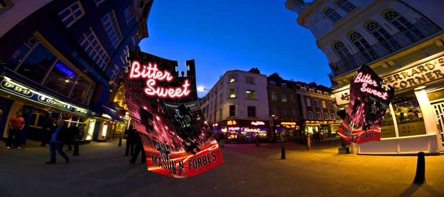 Bitter Sweet by Mason N. Forbes. A sensational thriller at Look 4 Books www.look4books.co.uk #L4B