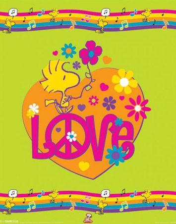 Woodstock peace love