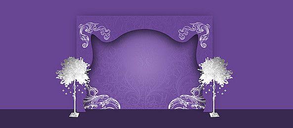 Wedding Invitations Pattern Background Banner Invitation