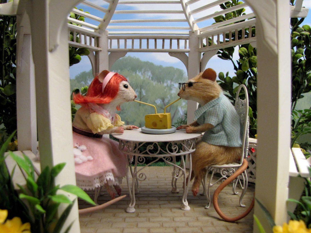 Mouse Couple Com Imagens Um Jantar Para Idiotas Cena Cena De