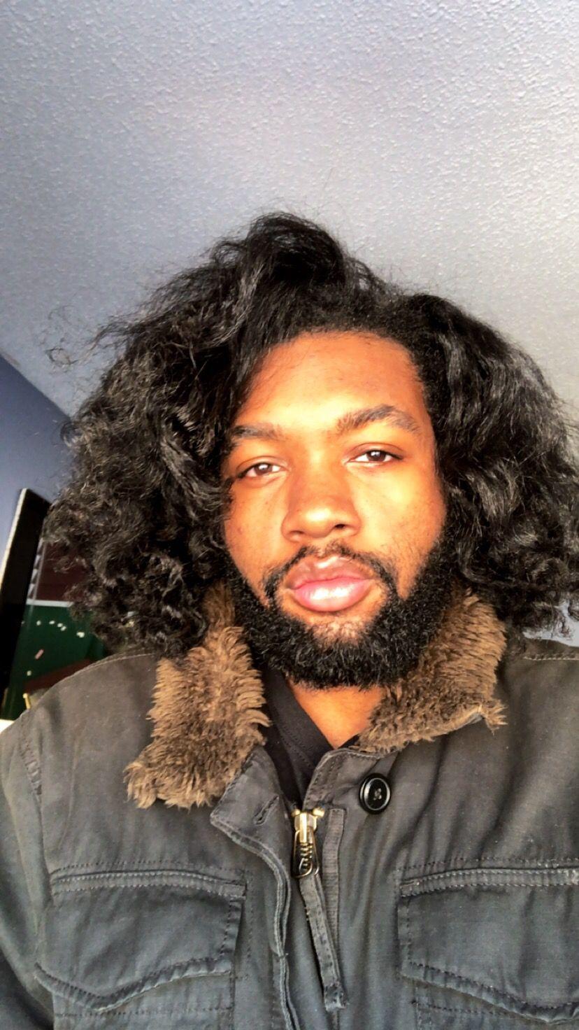 Flexi Rob On Straight Natural Hair Naturalhairmen Blackmenhair