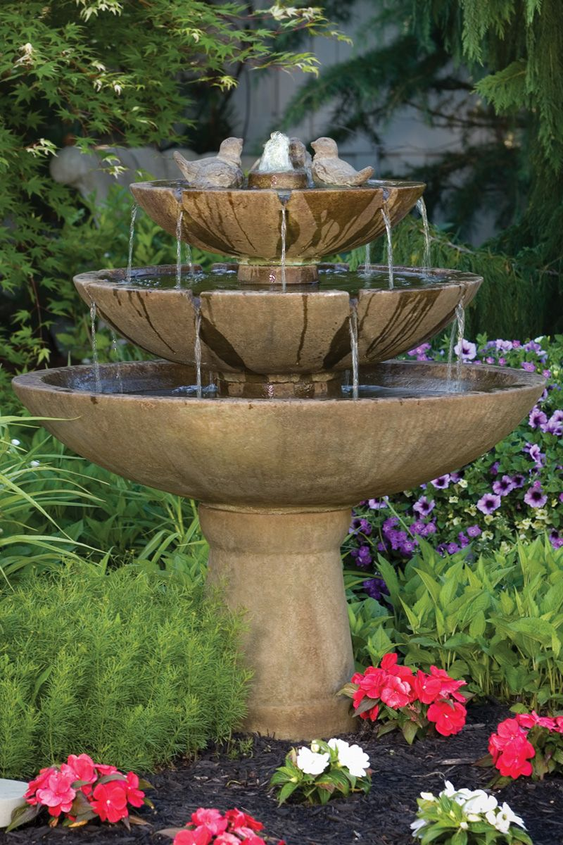 tranquil spills water feature on 48 tranquillity spill fountain with birds water features in the garden fountains outdoor indoor water fountains pinterest