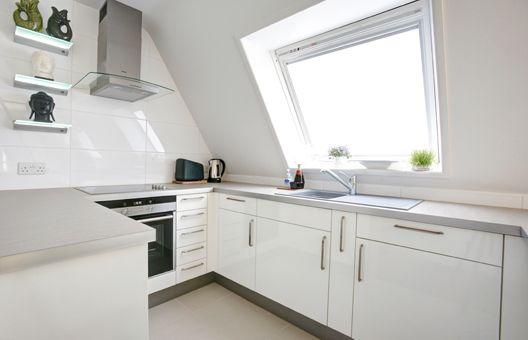 Attic kitchen attic living pinterest attic and kitchens for Attic kitchen ideas