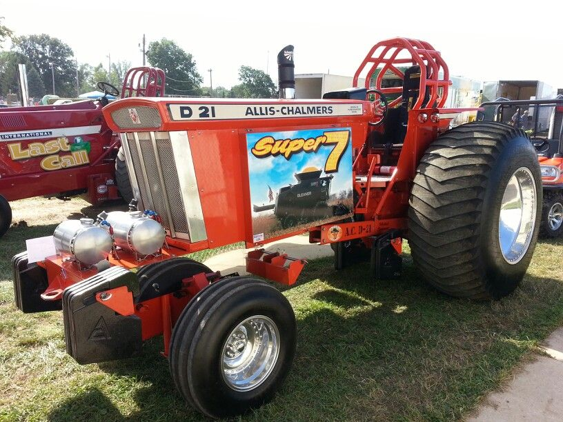 AllisChalmers D 21 Super Farm | Tractors | Truck, tractor
