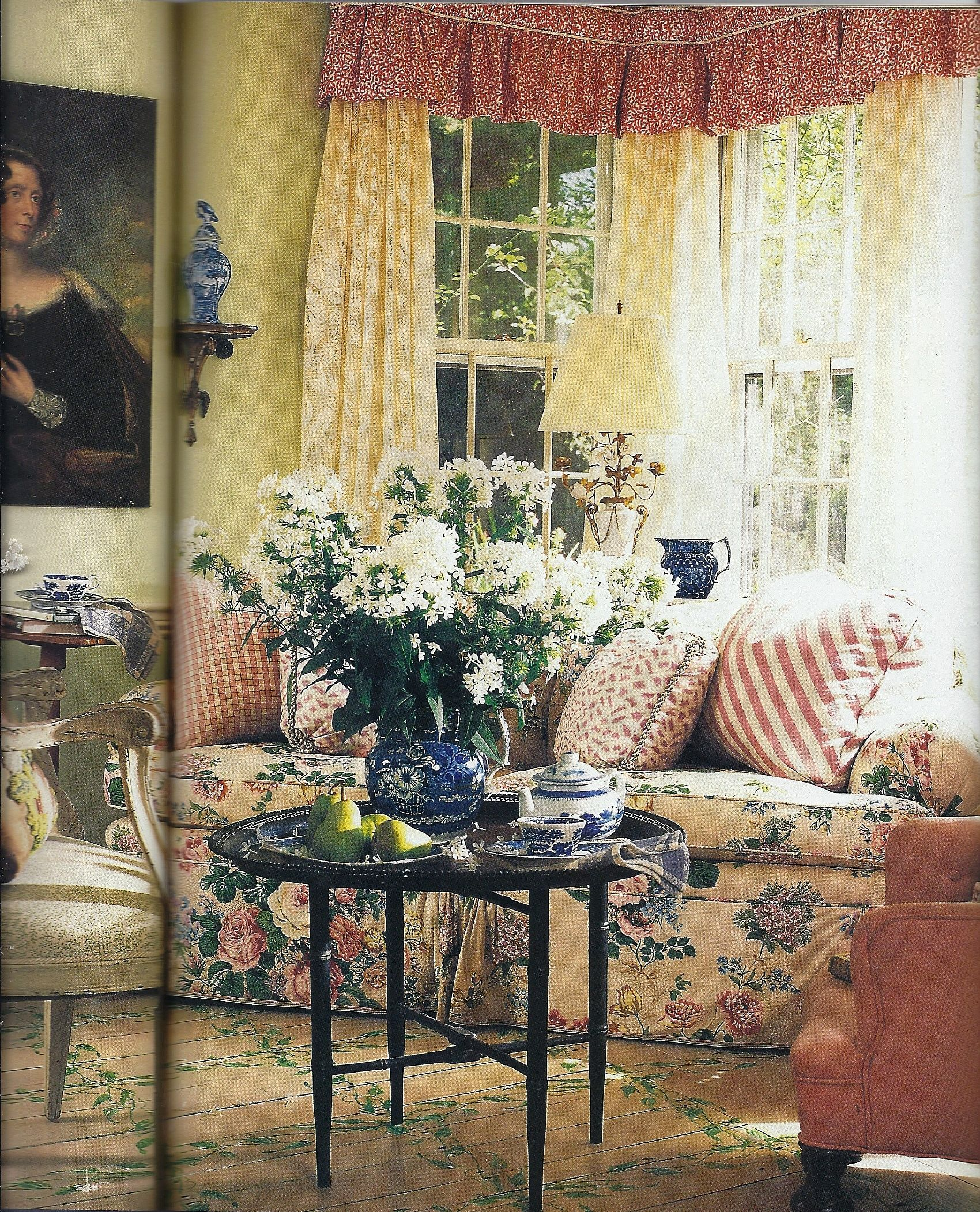 French Country Cottage Living Room: Home Furniture & Decorating In 2019