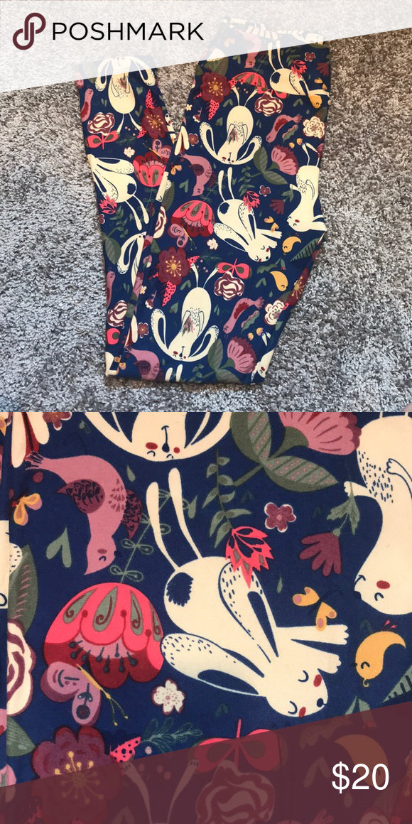c42880a42c6903 LuLaRoe OS Easter Leggings Brand new without tags OS LuLaRoe Easter  Leggings LuLaRoe Pants Leggings