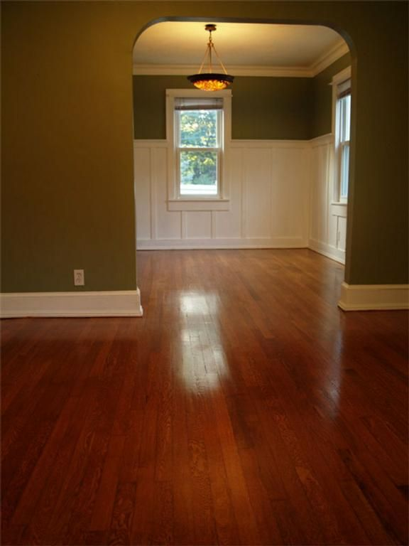 Minwax Gunstock Stained Red Oak Wood Floor Colors