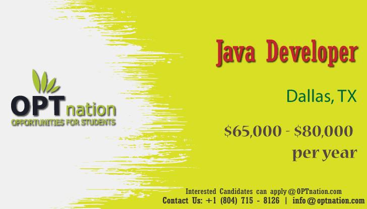 We Re Hiring Java Developer In Dallas Tx In 2020 Job Search Job Career Advice