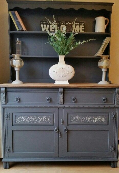 Oak Welsh Dresser Shabby Chic