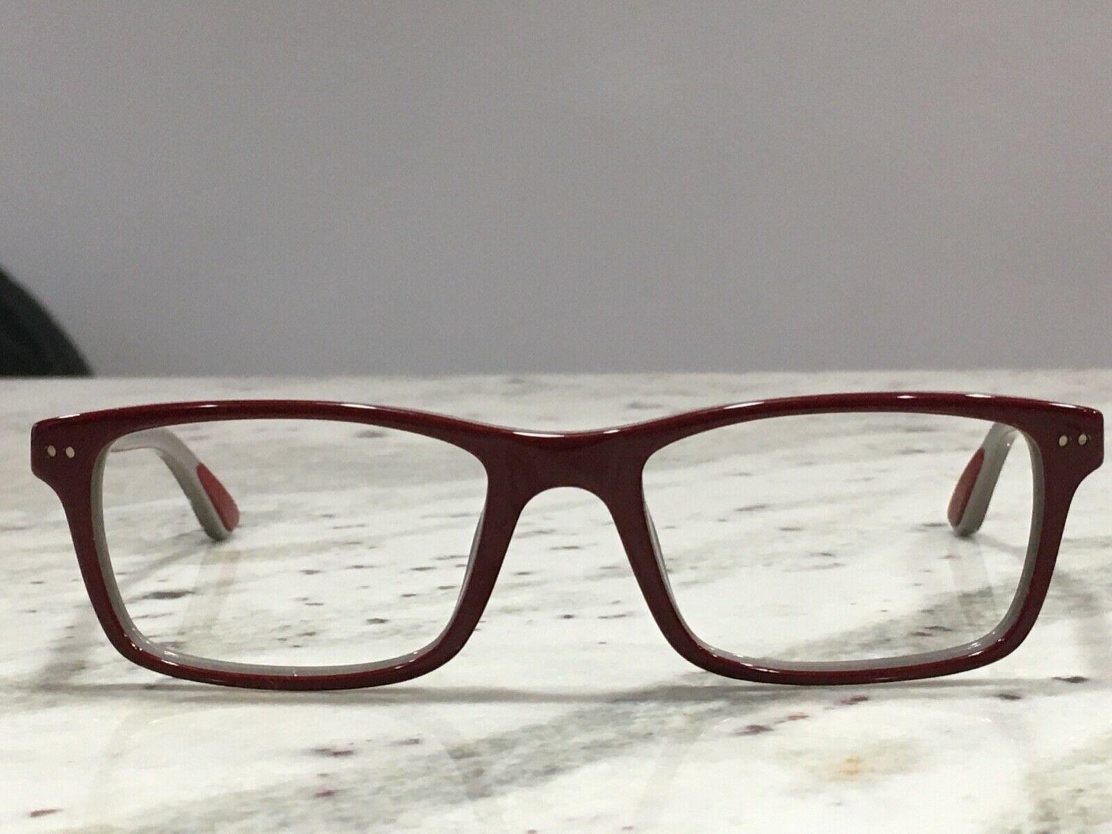 e32098e971244 Used Ray Ban Eyeglasses RB5288 5178 52 18 140 Bordeaux on Gray demo men  women