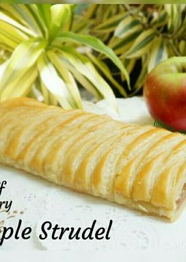 Resep Apple Strudel Dgn Kulit Pastry Instant Oleh Keko Risti Resep Makanan Ringan Manis Pastry Makanan