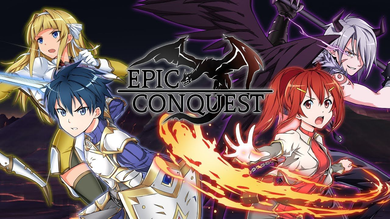 Epic Conquest v5.8e MOD Unlimited Gold Unlimited Ruby in