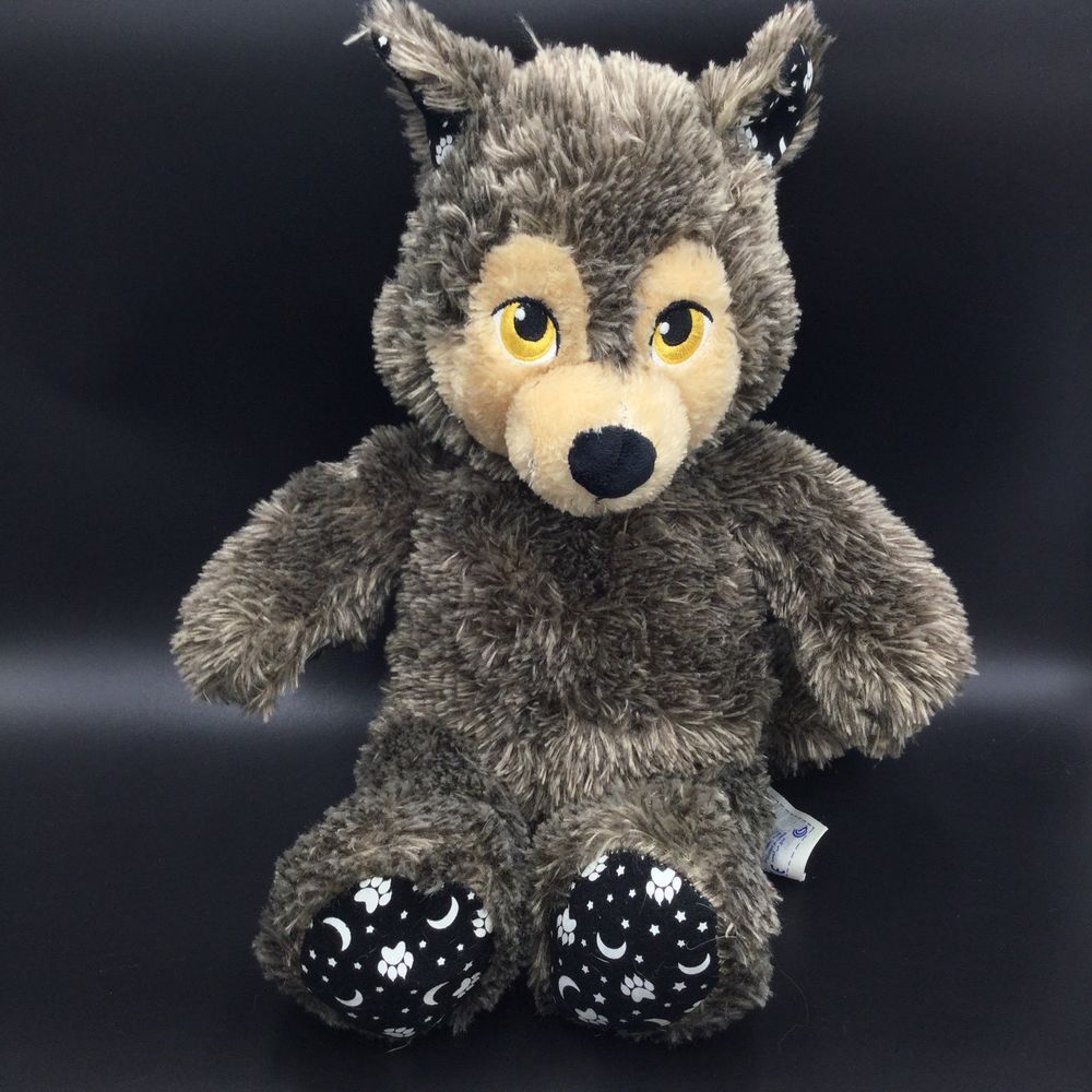 Build A Bear Werewolf Halloween Howl O Ween Brown Plush Glow In Dark 17