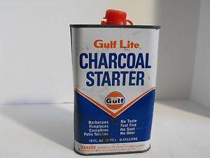 Vintage-Gulf-Lite-Charcoal-Starter-Lighter-Fluid-Can-1-Pint