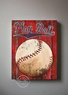 Baseball Wall Art image result for baseball wall art | painting ideas | pinterest