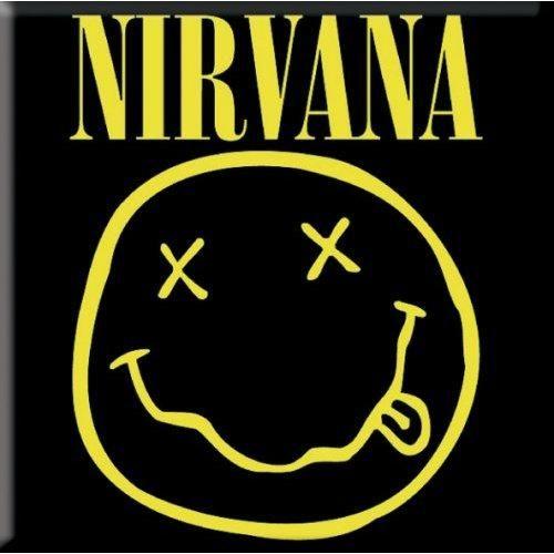 Photo of Nirvana Fridge Magnet: Smiley NIRVMAG01