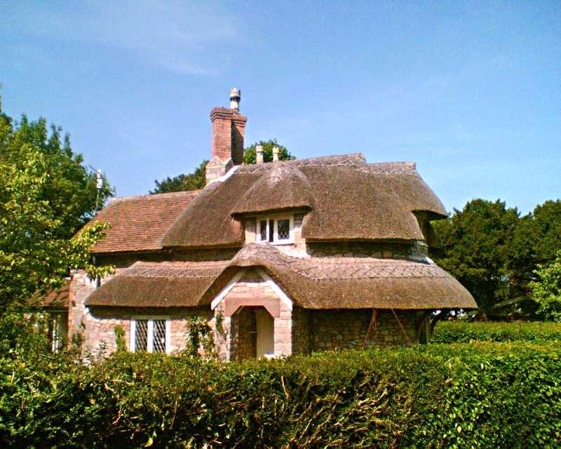Circular Cottage Blaise Hamlet Cottage Cottage Homes Cottage Design
