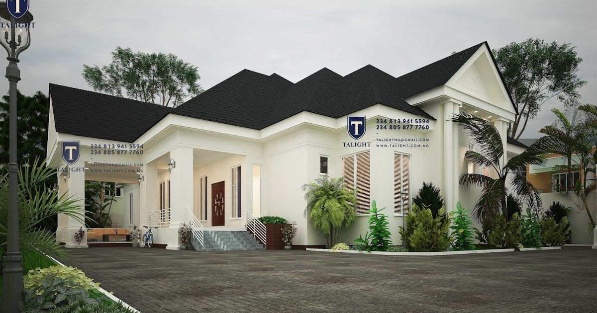Pin by Talightng +2348139415594 on Five bedroom bungalow ...