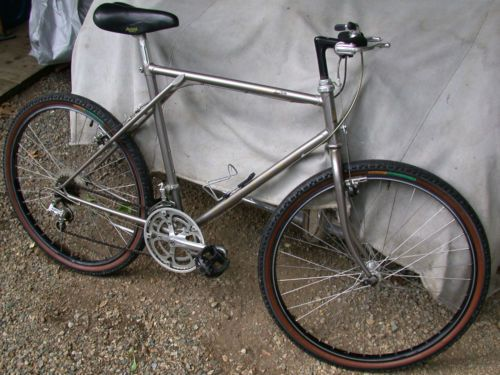 Nashbar City Lp Mid 80 S City Bike With 26 Wheels Road
