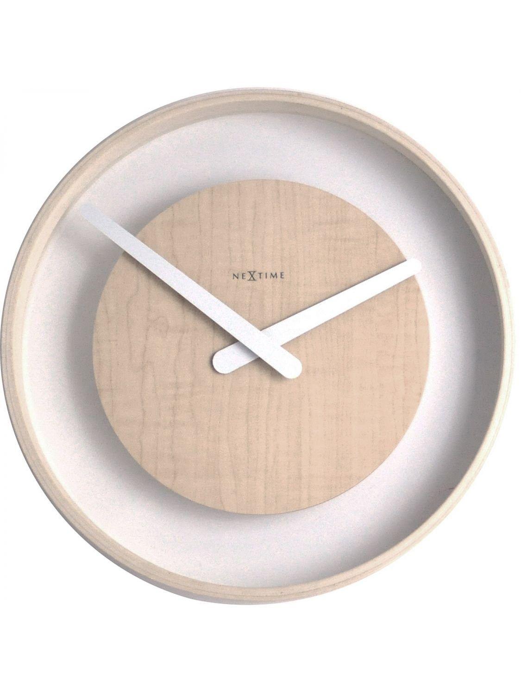 Wood Loop Wall Clock design by Nextime
