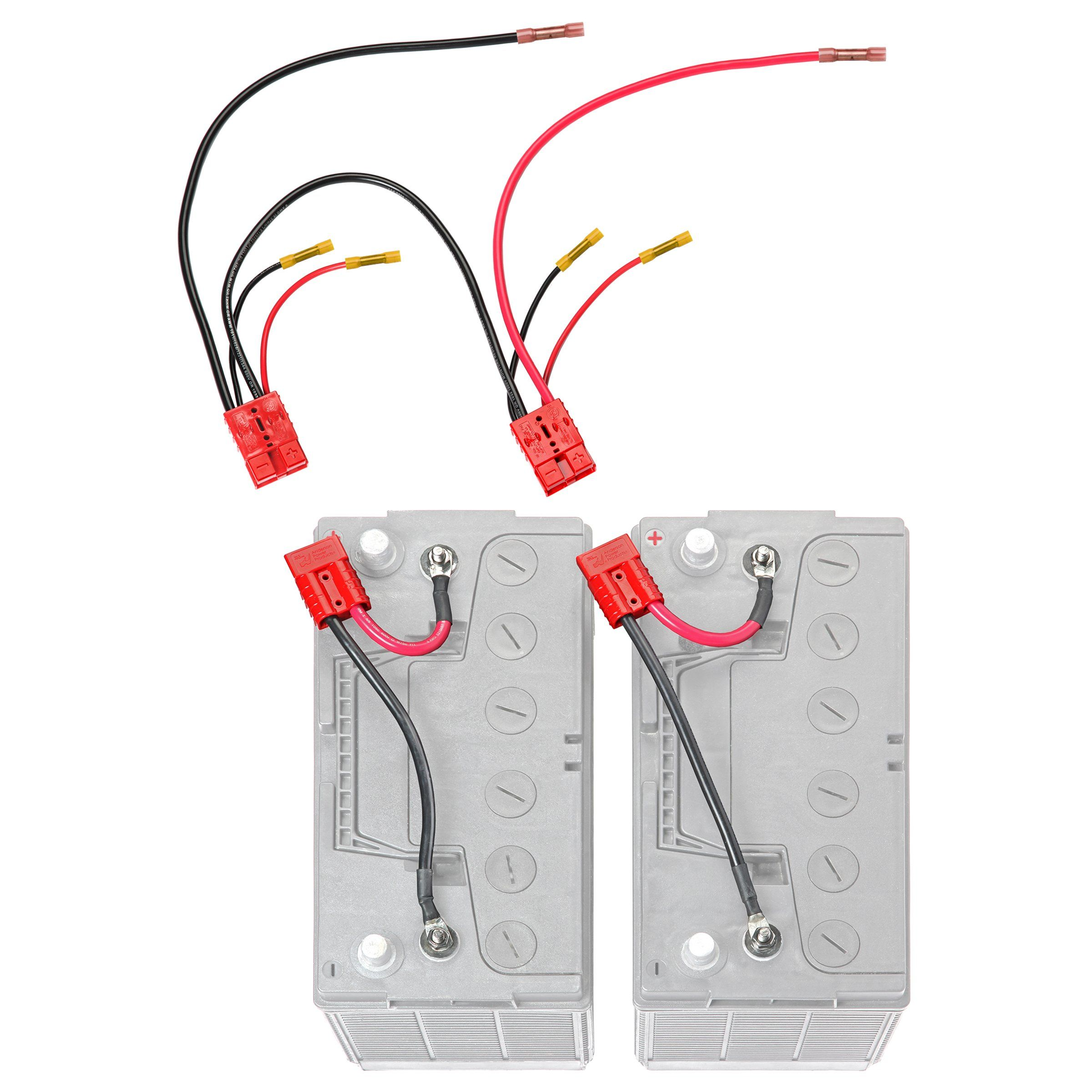 24 Volt Series Trolling Motor Connection Kit With On Board Charging Rce24vbchk Trolling Motor Boat Wiring Marine Equipment