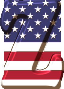 Http Www Ohmyalfabetos Com 2015 01 Alfabeto Con La Bandera De Usa Html Bandera De Usa Alfabeto Monograma Alfabeto