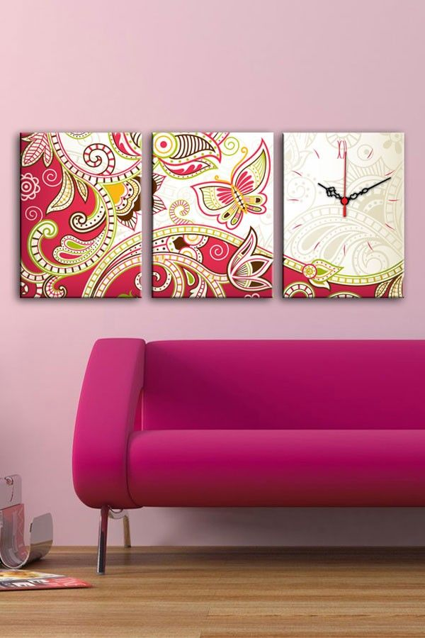 Decorative wall clock | For the Home | Pinterest | Decorative walls ...