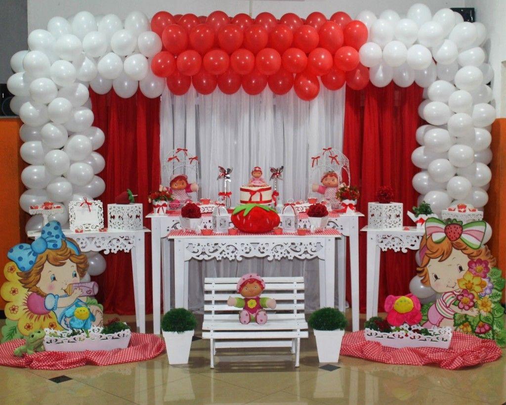 Festa Infantil: Tema Moranguinho Baby - Ideias em Casa