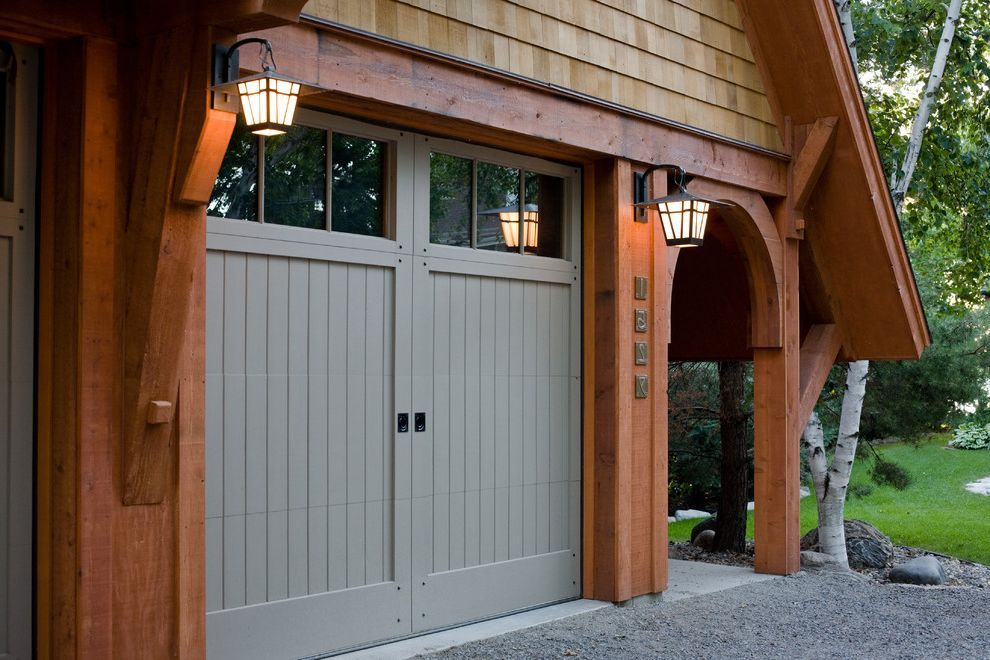 Chattanooga Garage Door With Craftsman Garage Also Arched Doorway Blue Wood Door Craftsman Garage Door Outdo Garage Door Styles Garage Doors Garage Door Design