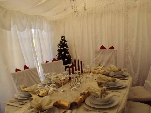 Check out how your Gala Tent Marquee could look this Christmas! Great decor