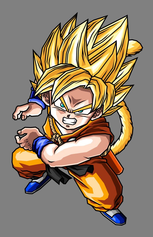 Kid Goku Super Saiyan By Hsvhrt Dragonball Goku Kid