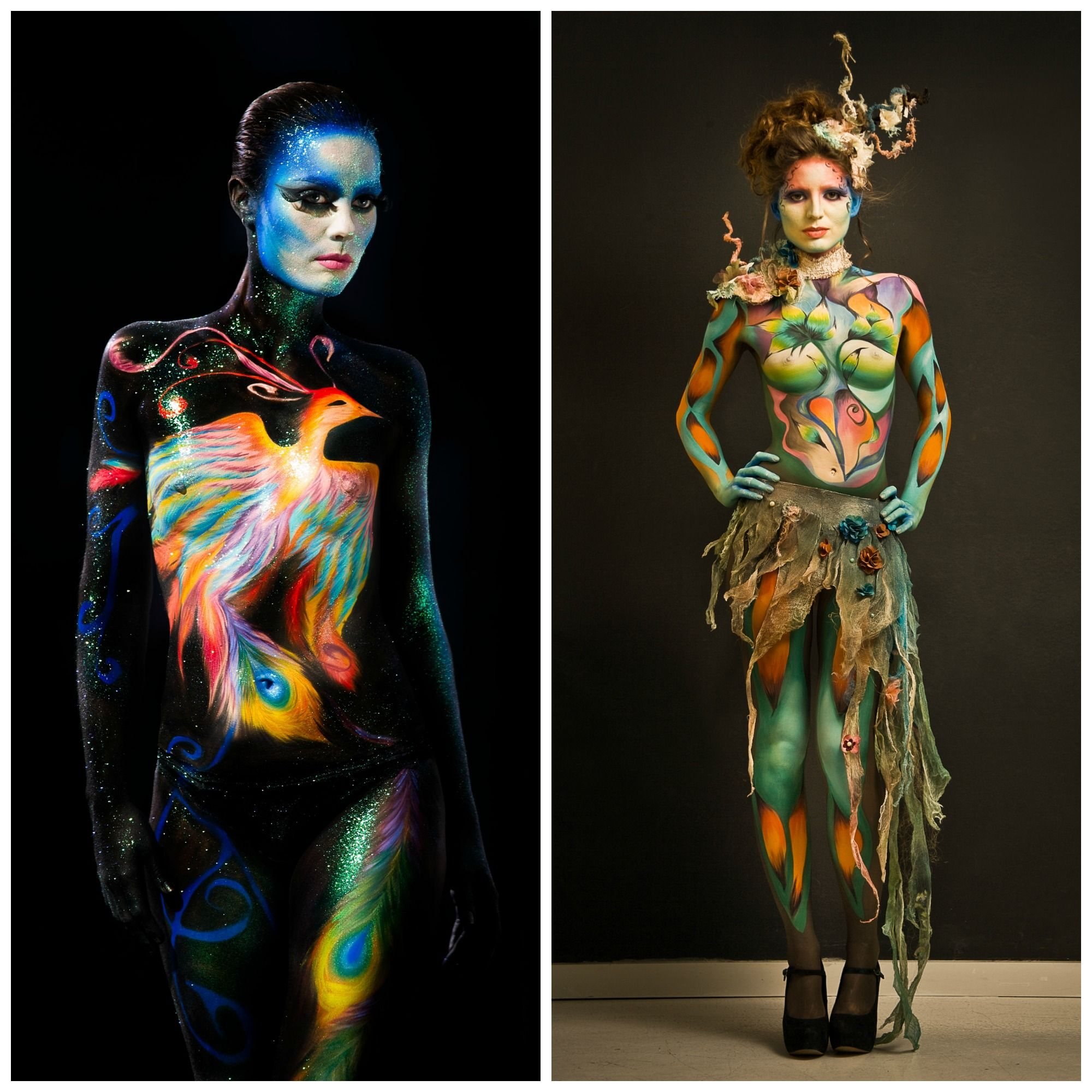 Photo of Image result for animal body paint