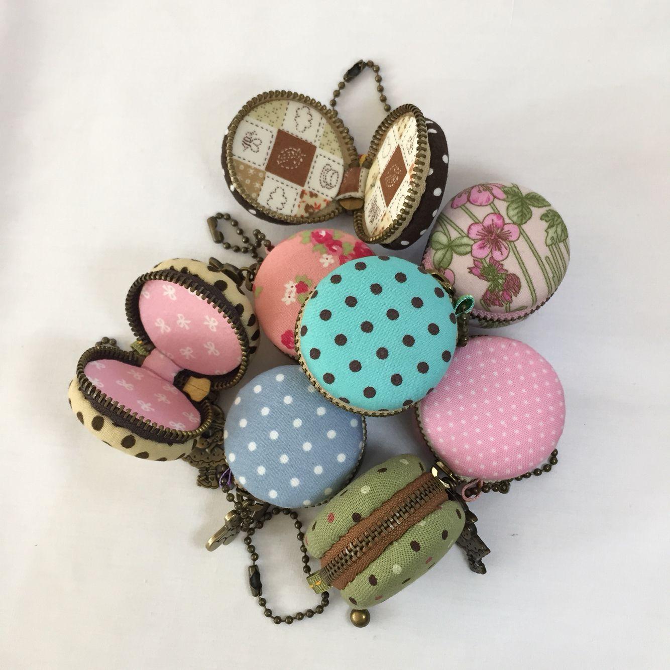 macaron coin purse