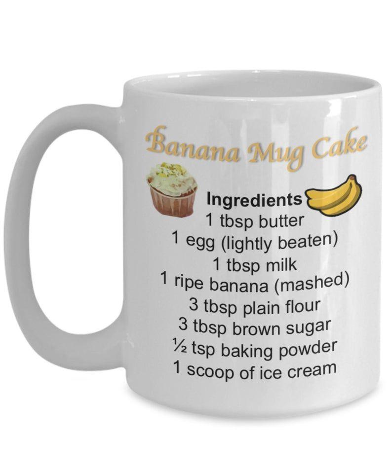 Mug Cake Recipes Cake Mug Cake in a Mug Mug Recipes Recipe | Etsy