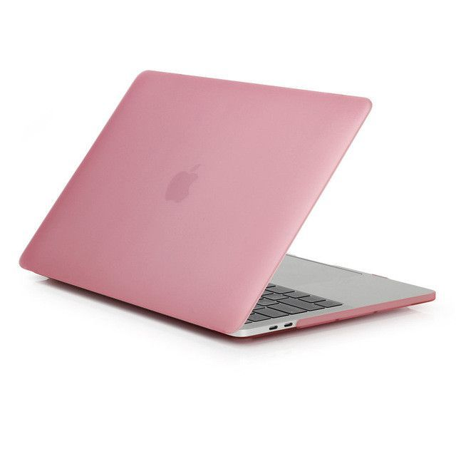 """Redlai Rubberize Matte Crystal Clear For Macbook Pro 13"""" 15"""" Inch with /out Touch Bar Hard Shell 2016 Newest A1707 A1706 A1708"""