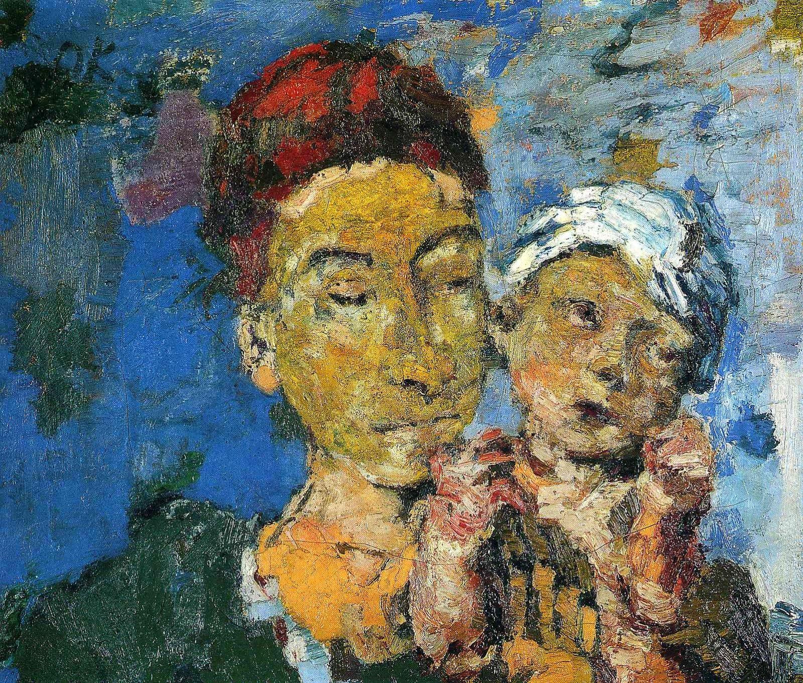 Oskar Kokoschka ~ Expressionist painter | Tutt'Art@ | Pittura * Scultura * Poesia * Musica |