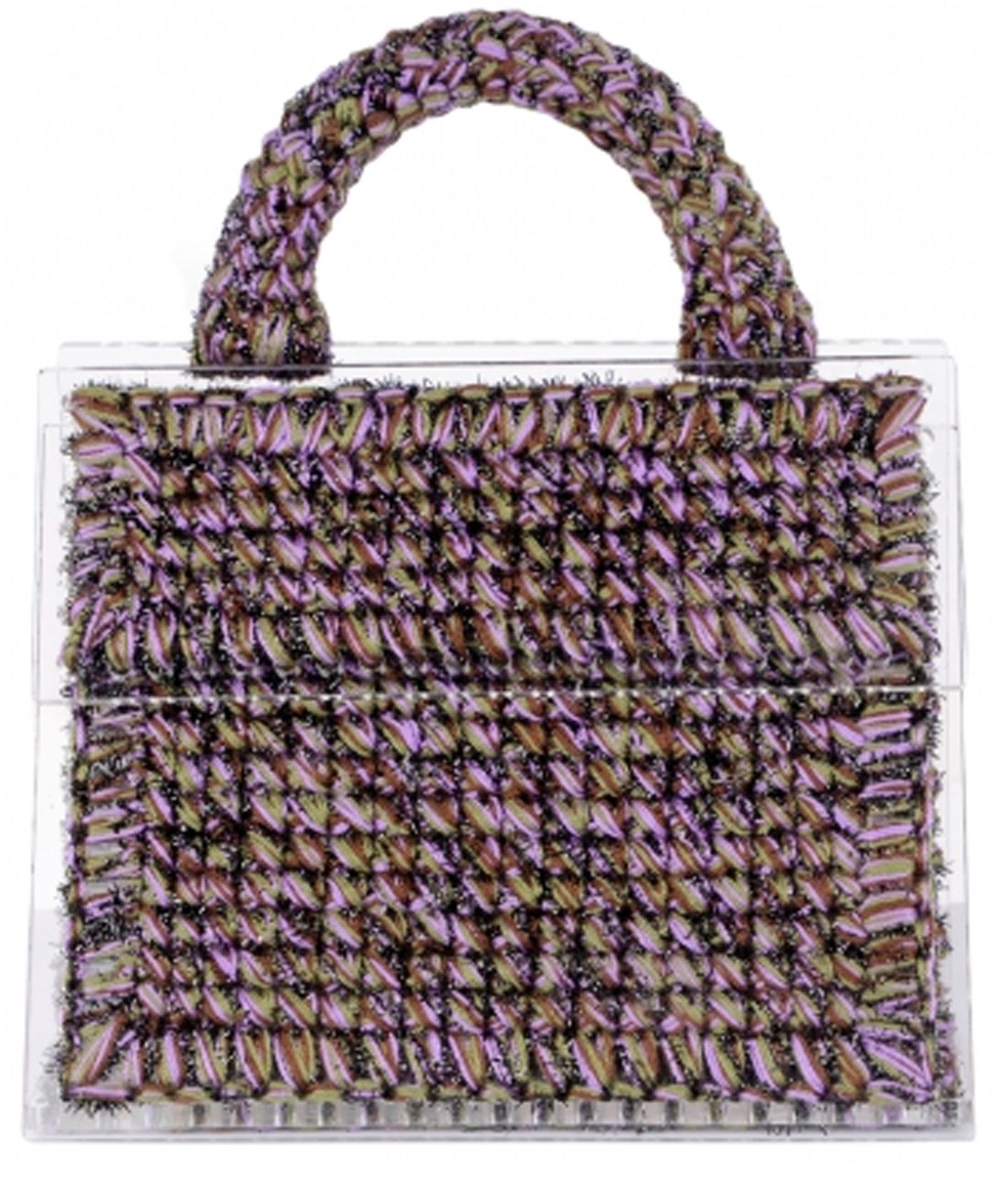 Copacabana large woven handbag - Black 0711