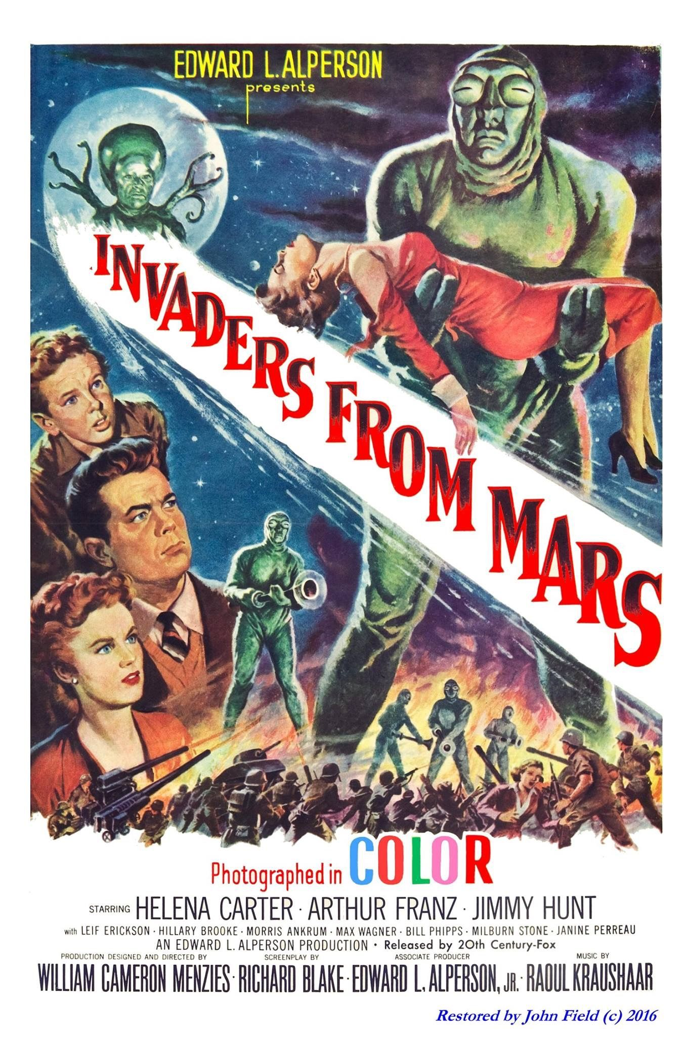 Forbidden Planet FRIDGE MAGNET 11x17 Magnetic Movie Poster Canvas Print