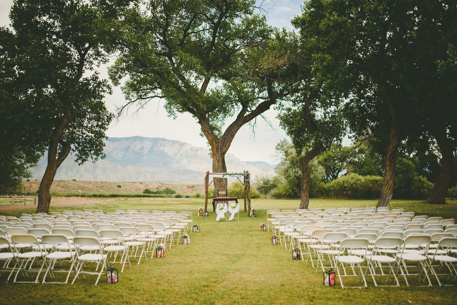 Wedding At Sandia Lakes Recreation Area In New Mexico