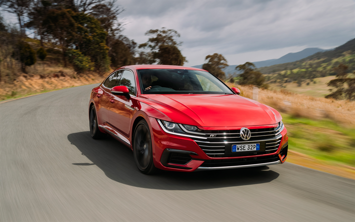 Wallpapers Volkswagen Arteon R Line 2018 Sports Sedan