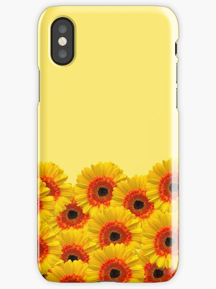 Yellow Party iphone case